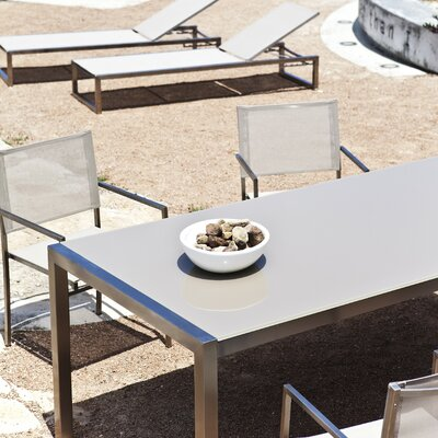 Harbour Outdoor Soho Glass Dining Table