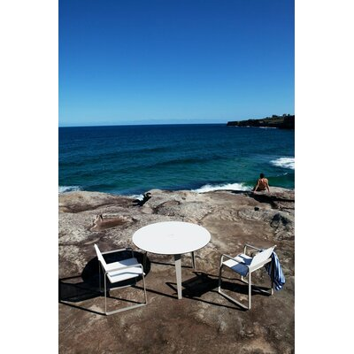 "Harbour Outdoor Clovelly 47"" Round Dining Table"