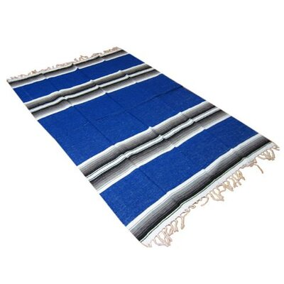 Deluxe Mexican Striped Blanket