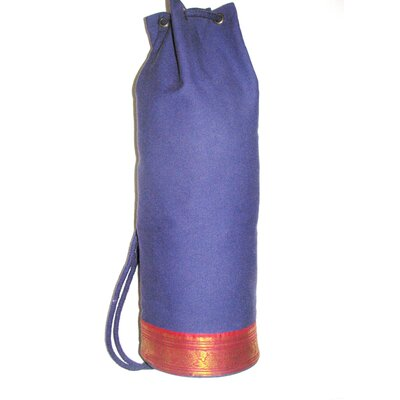 Dhyandeep Yoga Mat Bag in Dark Purple