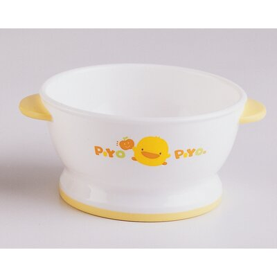 Piyo Piyo Double Handled Slip-Proof Bowl