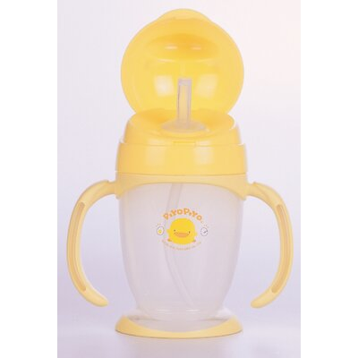 Piyo Piyo Four Step Training Cup Lid Straw Style