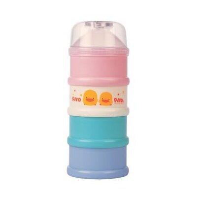 Piyo Piyo Colored Four Layer Milk Powder Dispenser