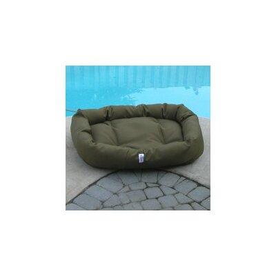 Outdoor Memory Foam Donut Dog Bed