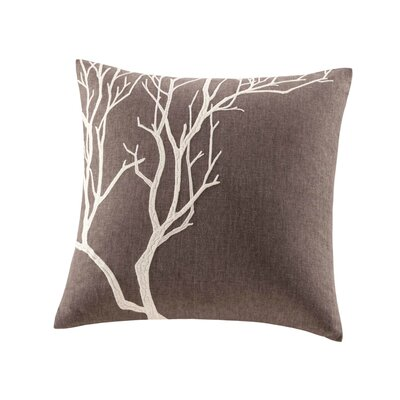 "Tao Terra 18"" Decorative Pillow in Brown"
