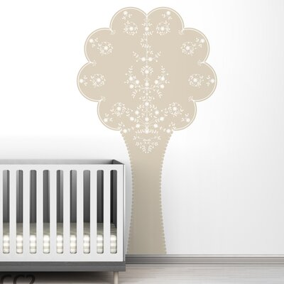 LittleLion Studio Black Label Vineyard Tree Wall Decal