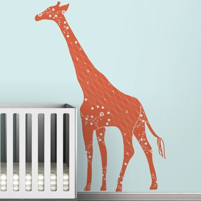 LittleLion Studio Black Label Cornet Giraffe Wall Decal