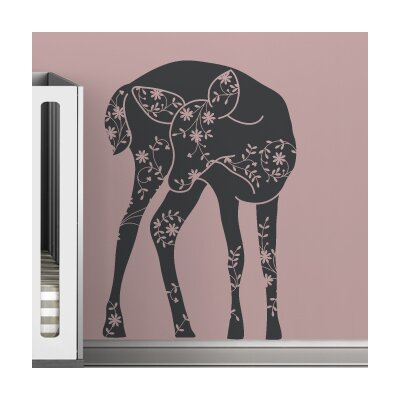 Black Label Vineyard Fawn Wall Decal
