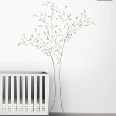 Black Label Berry Tree Wall Decal
