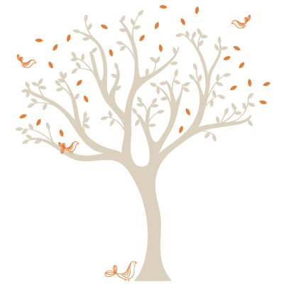 LittleLion Studio Trees Tweet Wall Decal