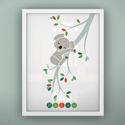 Print Sleepy Koala Framed Art