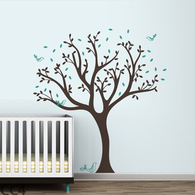 LittleLion Studio Tweet Tree Wall Decal