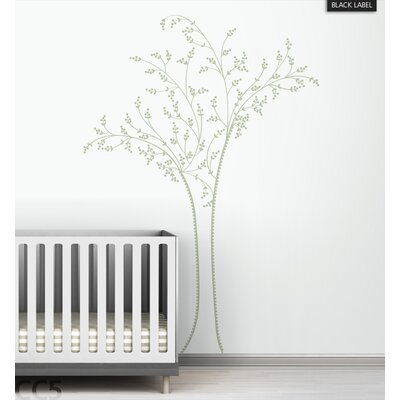 LittleLion Studio Berry Tree Black Label Wall Decal