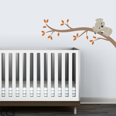 LittleLion Studio Koala Branch I Wall Decal