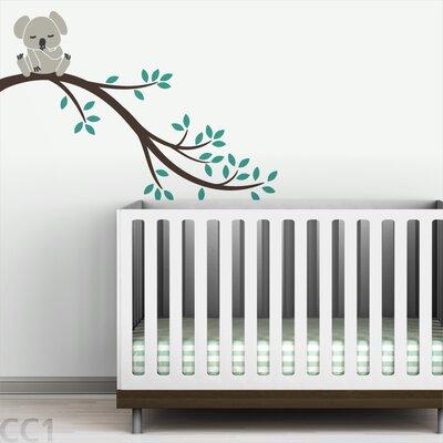 LittleLion Studio Tree Branches Koala II Wall Decal