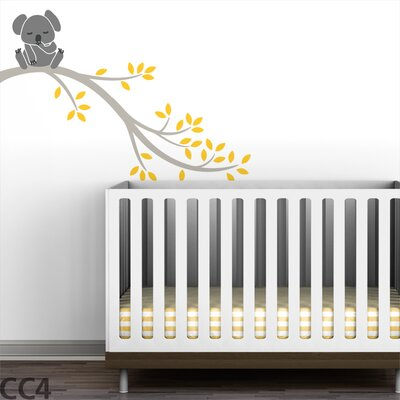 LittleLion Studio Koala Branch II Wall Decal