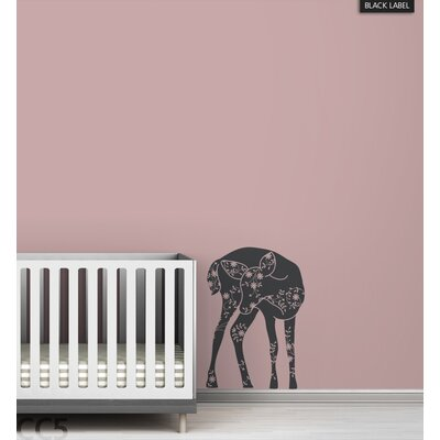 LittleLion Studio Vineyard Fawn Black Label Wall Decal