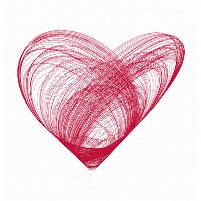LittleLion Studio Prints Heart Framed Art