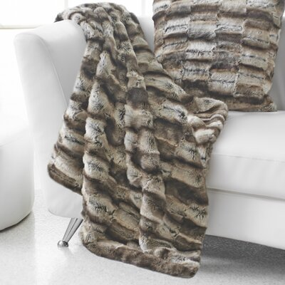 Portico Seduction Wrapture Faux Fur Acrylic/Polyester Throw