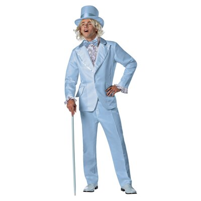 Dumb and Dumber Harry Blue Tuxedo Costume