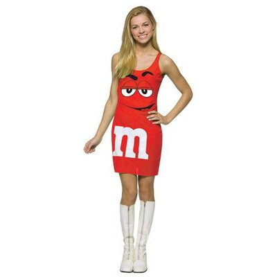 Rasta Imposta M&M Tank Dress Teen Costume