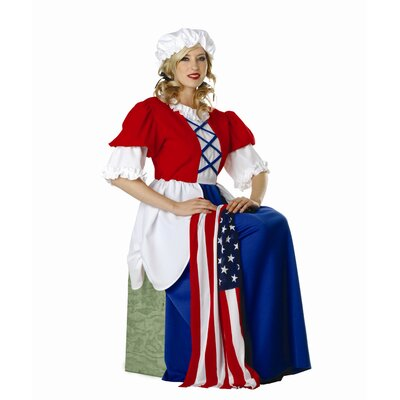 Betsy Ross Adult Dress