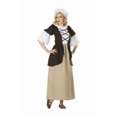 Colonial Peasant Adult Dress