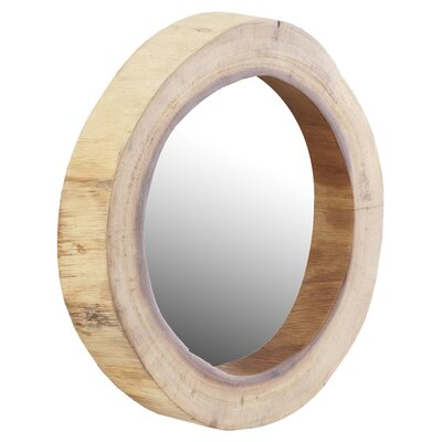Phillips Collection Chamcha Wood Mirror Décor