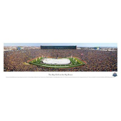 Blakeway Worldwide Panoramas, Inc NCAA The Big Chill at The Big House Unframed Panorama