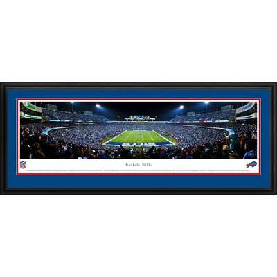 NFL End Zone Deluxe Frame Panorama
