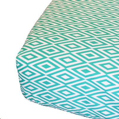 Oliver B Diamond Fitted Crib Sheet