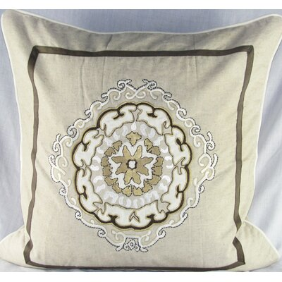Design Accents LLC Large Anai Suzani Pillow with Embroidery