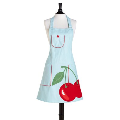 Super Cherry Bib Chef's Kitchen Apron