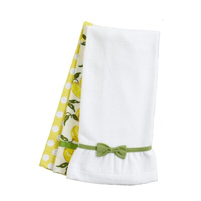 Jessie Steele Summer Lemons Towel Trio