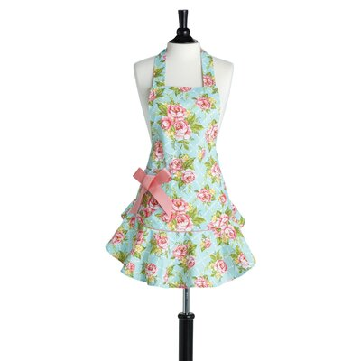 Cottage Kitchen Rose Bib Josephine Apron