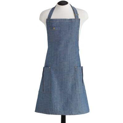 Jessie Steele Denim Bottle Opener with BBQ Apron