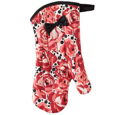 Jessie Steele Deco Rose Bow with Oven Mitt