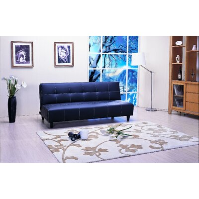 Emerald Home Furnishings Deco Fabric Sleeper Sofa