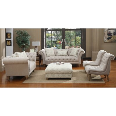 Emerald Home Furnishings Hutton Living Room Collection