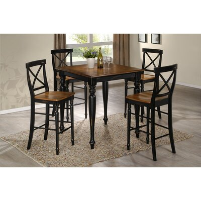 Gatlinburg 5 Piece Pub Table Set