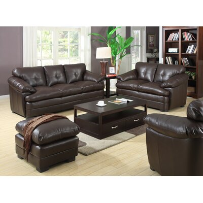 Emerald Home Furnishings Princeton Chair and Ottoman