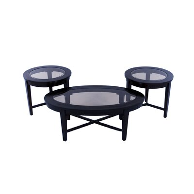 Emerald Home Furnishings 3 Piece Coffee Table Set