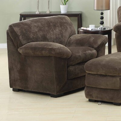 Emerald Home Furnishings Devon Chair and Ottoman