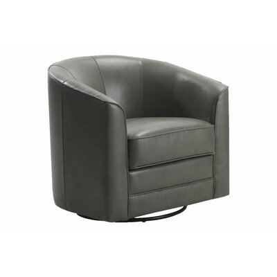Emerald Home Furnishings Milo Swivel Slipper Chair