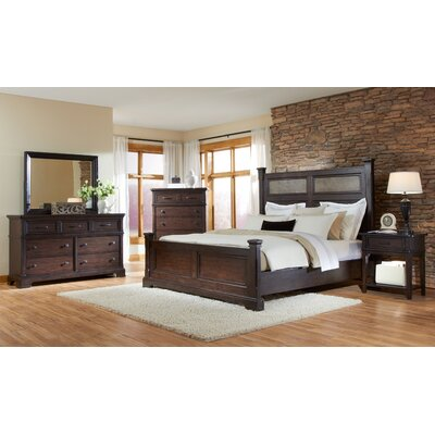 crystal ridge panel bedroom collection wayfair