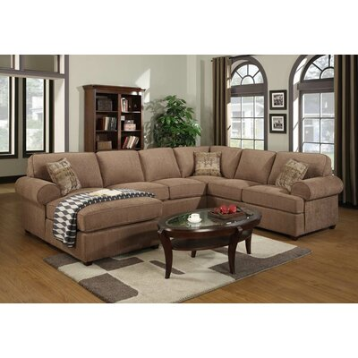 Emerald Home Furnishings Ellington Left Facing Sectional