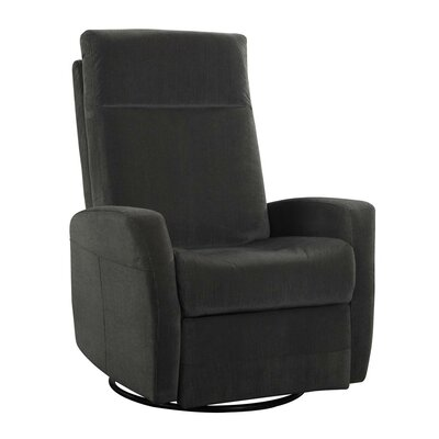 Emerald Home Furnishings Garrett Swivel Glider Recliner