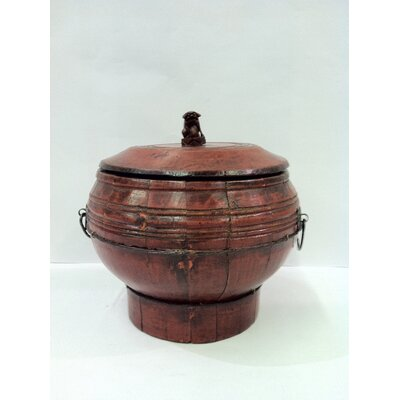 Antique Revival Vintage Chinese Candy Jar