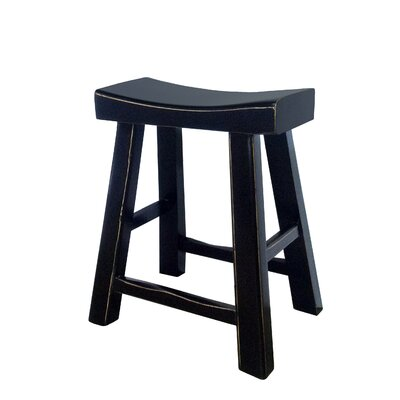 Chinese-Style Sturdy Bar Stool