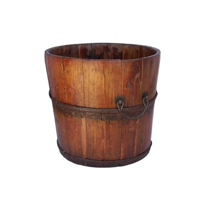 Antique Revival Vintage Wooden Sink Bucket